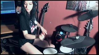 Machine Head - Desire To Fire (Intro) - drum cover by Hooda