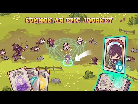 Tiny Guardians Game Trailer - iOS & Android