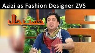 Azizi As Fashion Designer ZVS   Hasb-E-Haal   27 Mar 2015