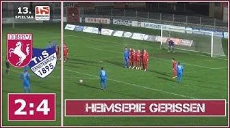13. Spieltag 2018/19: Hammer SpVg - TuS Erndtebrück 2:4 (1:2)