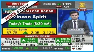 Smallcap Radar : Today's Trade Pincon Spirit currently trading at 68 with 3.5% rise Video