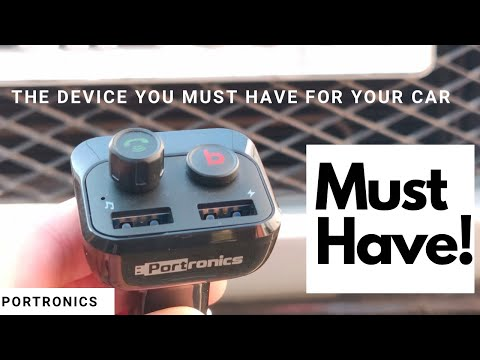 The Device You Must Have For Your Car   Portronics Auto 10