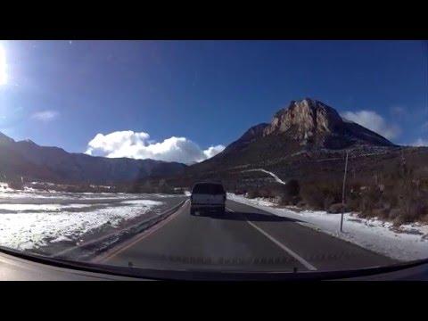 Drive to Mount Charleston, Nevada (reaching near 7000 elevation)