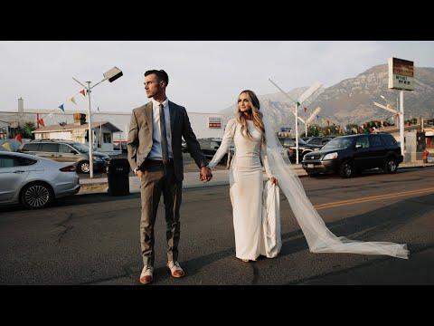 Jon & Brooklyn Wedding | The Bright Building | Provo Utah Wedding