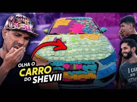 TROLAGEM - ROUBAMOS O CARRO DO SHEVIII