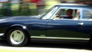 Gordon-Keeble at Helmingham Hall 2 (return run)