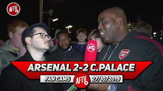 Arsenal 2-2 Crystal Palace | Zaha Is Always The Best Player In This Fixture! (Palace Fan)