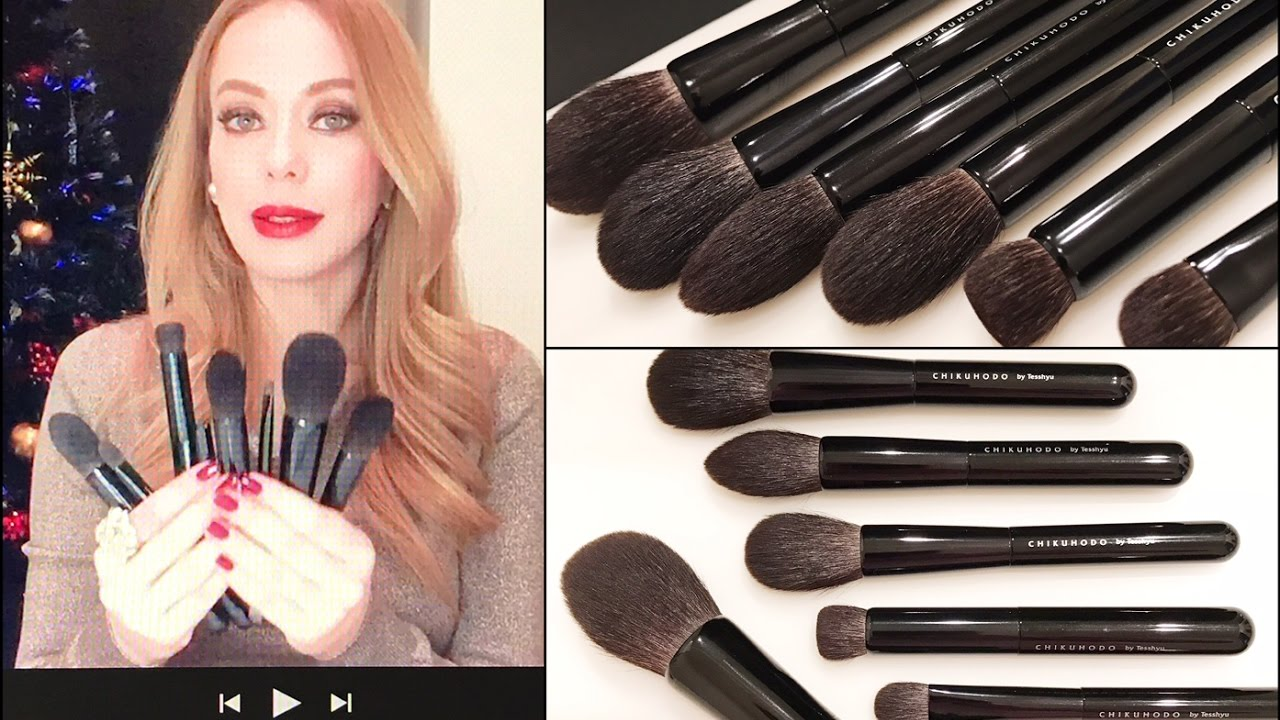 FIRST IMPRESSIONS | Chikuhodo Beautylish Brush set - YouTube