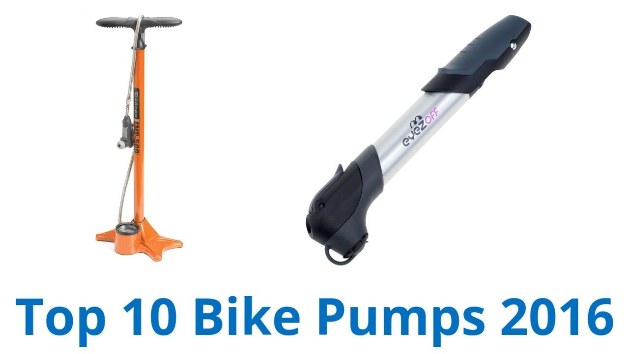 10 Best Bike Pumps 2016 - YouTube