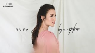 Video Raisa - Lagu Untukmu (Official Audio) download MP3, 3GP, MP4, WEBM, AVI, FLV Juli 2018