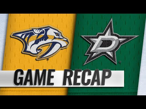 Josi scores twice in the 3rd as Predators beat Stars