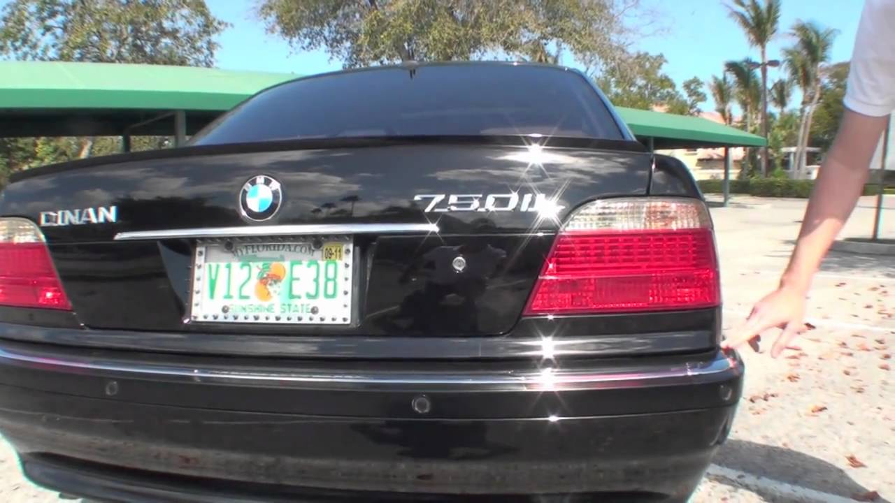 2001 Bmw 750il Part 2 Real Dinan V12 Youtube