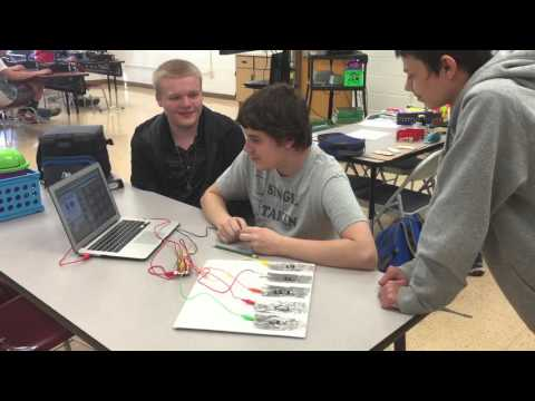 Southern Garrett High School Computer Science Students Develop Learning Games #TransformLearning