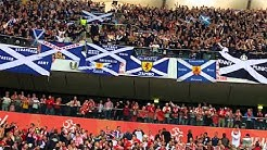 Flower of Scotland - Tartan Army - Poland v Scotland, Warsaw,
