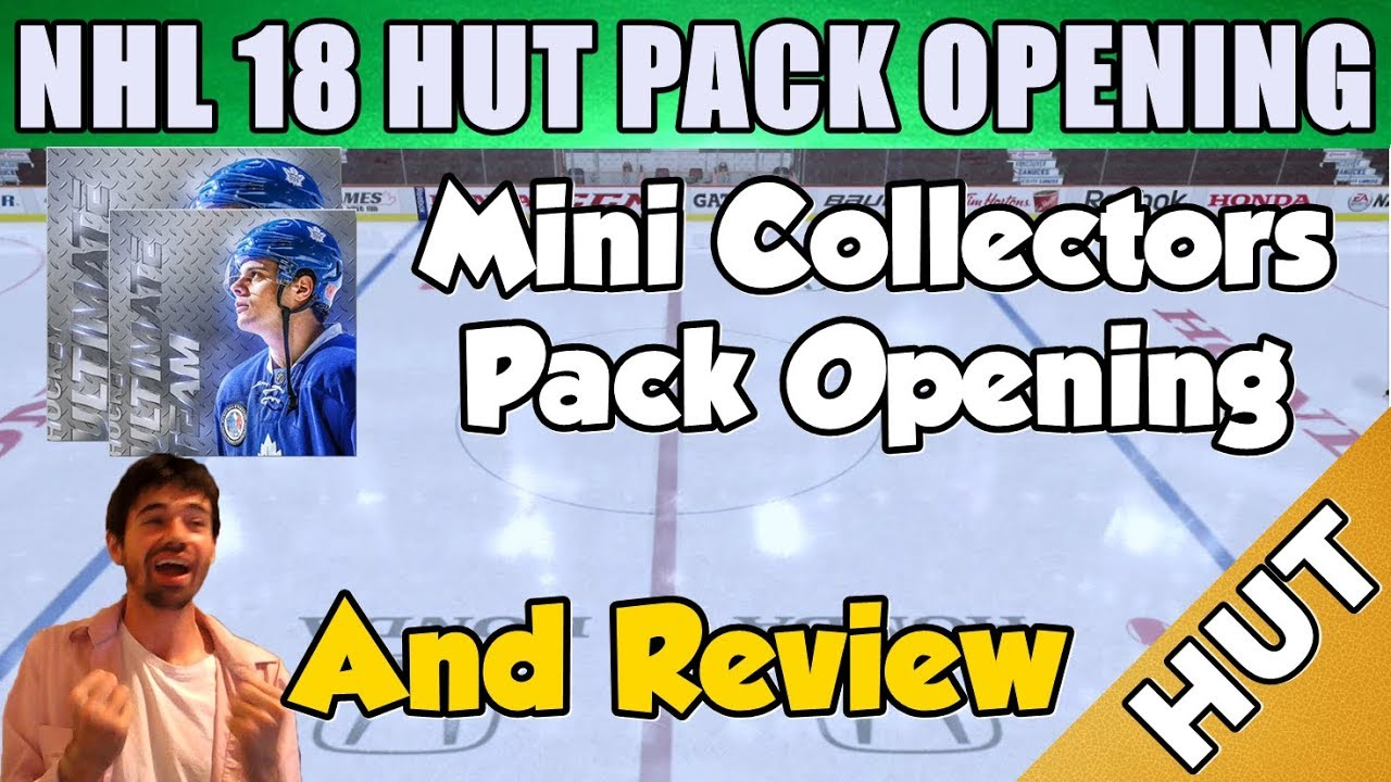 Mini Collectors Pack Opening   Review - NHL 18 HUT - Hockey Ultimate Team -  New Packs! 74cf65120