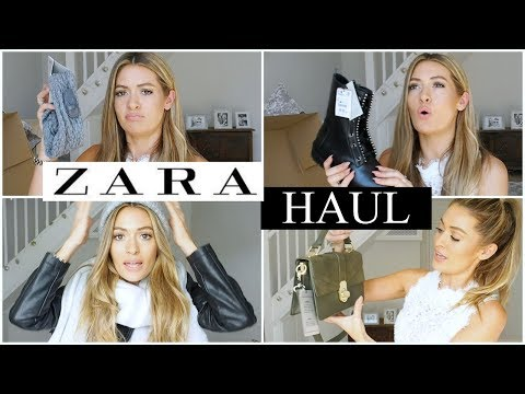ZARA HAUL - UNBOXING AND TRY ON shoes, bags & accessories