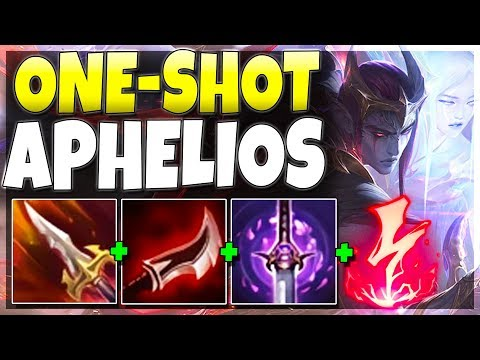 THIS ONE-SHOT APHELIOS BUILD IS UNFAIR!!! I Outrange EVERYONE - League Of Legends