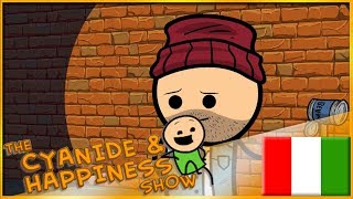 [Explosmentertainment] HaHa Hobo - Cyanide & Happiness Shorts - DOPPIAGGIO ITA -