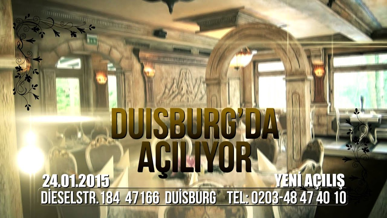 park istanbul restaurant duisburg tv spot hd youtube. Black Bedroom Furniture Sets. Home Design Ideas