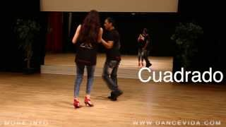 Salsa Cuban Basic Steps - Cuadrado