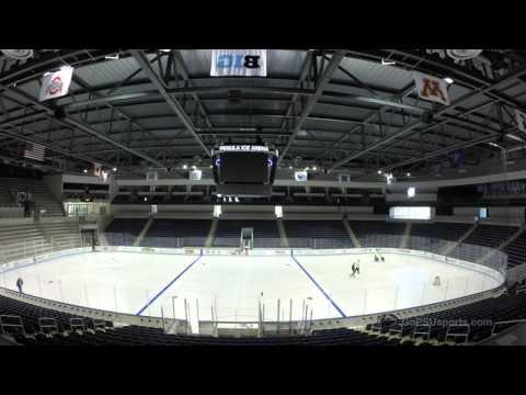 Pegula Ice Arena Timelapse: Ice Painting 2015