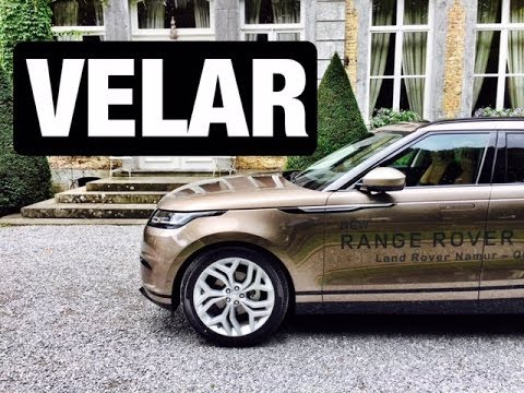 essai range rover velar 2017 1 youtube. Black Bedroom Furniture Sets. Home Design Ideas