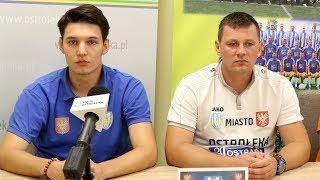 Trener Marcin Truszkowski o meczu z Hutnikiem Warszawa