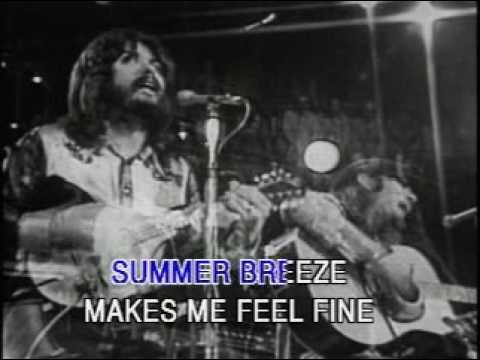 seals & crofts   summer breeze karaoke original footage