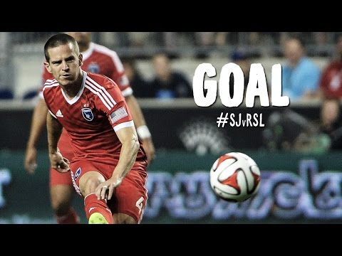 GOAL: Sam Cronin finishes hard and low   San Jose Earthquakes vs. Real Salt Lake