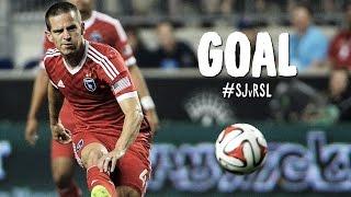 GOAL: Sam Cronin finishes hard and low | San Jose Earthquakes vs. Real Salt Lake