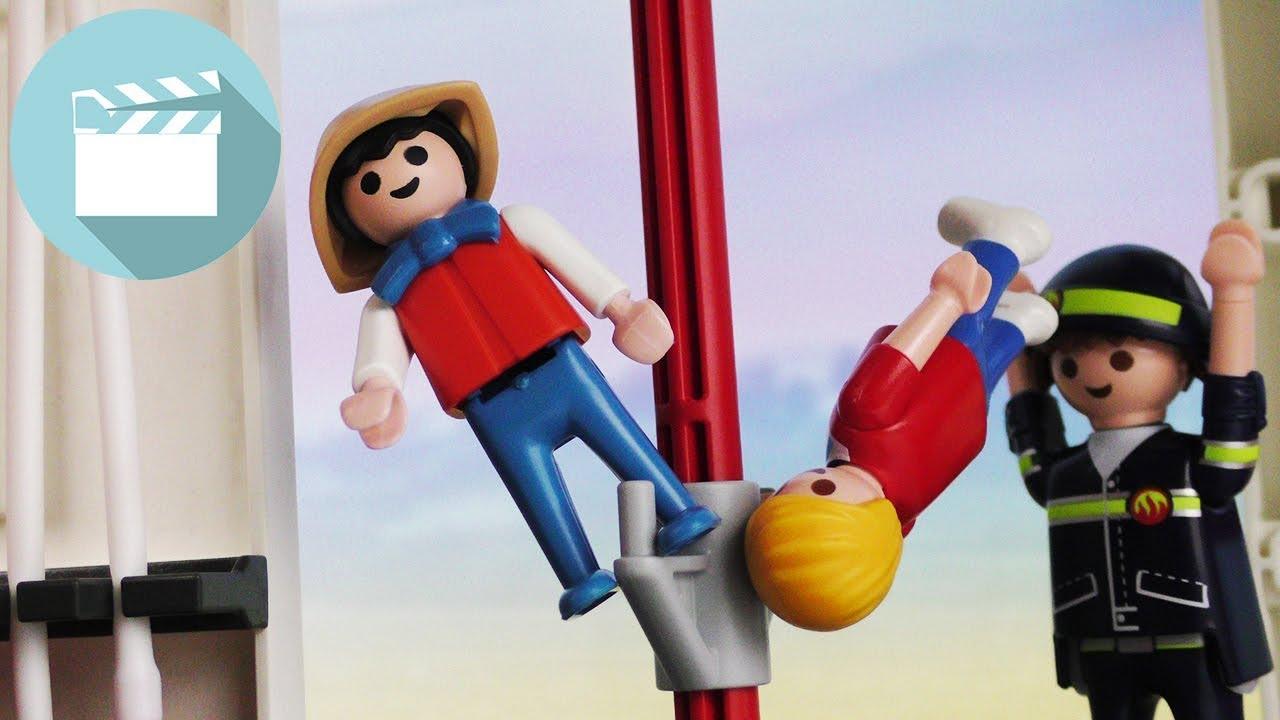 CHAOS bei der FEUERWEHR: Marvin & Matze machen nur UNSINN! | Playmobil Film Deutsch