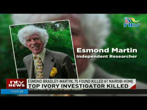 Top ivory investigator Bradely Martin killed