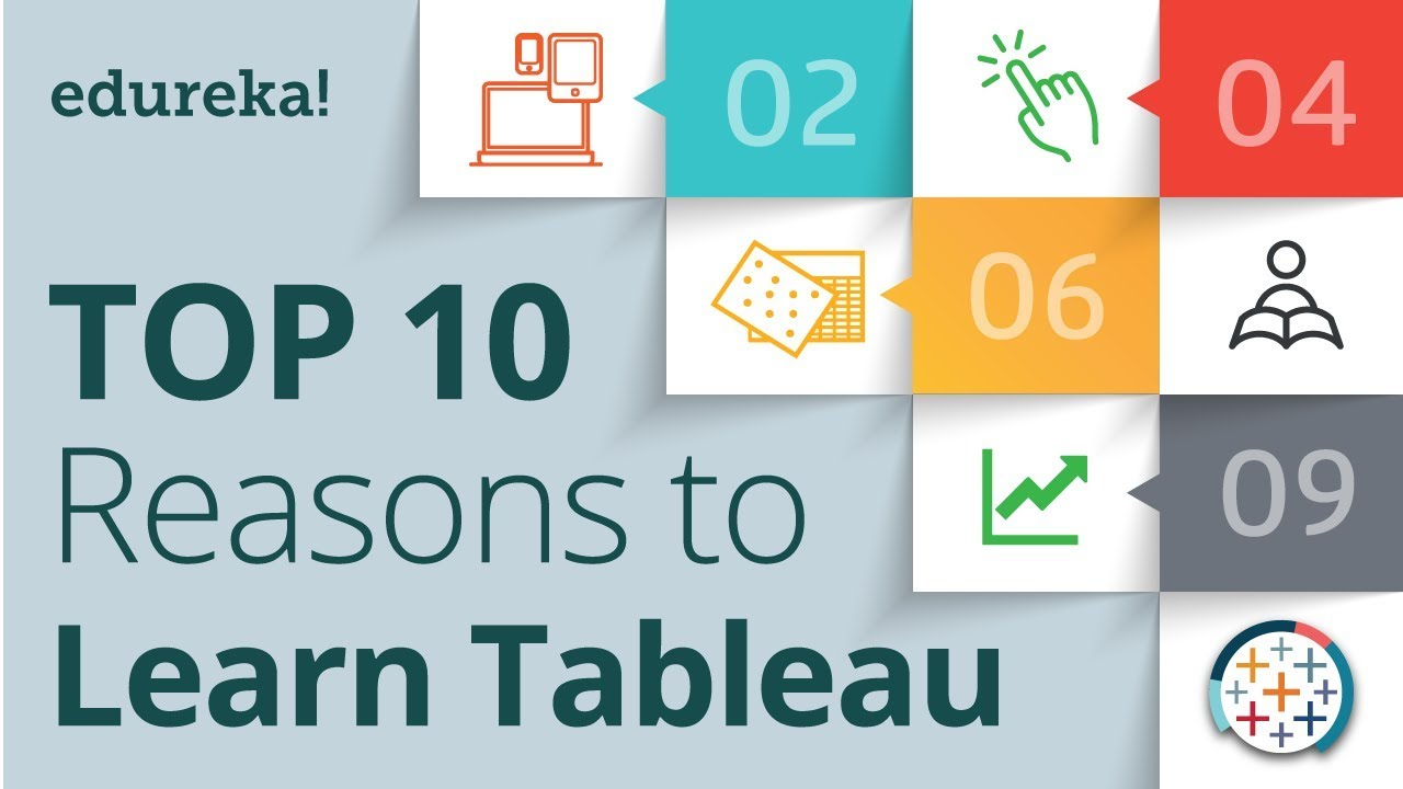 Top 10 reasons to learn tableau tableau certification tableau top 10 reasons to learn tableau tableau certification tableau training for beginners edureka baditri Images
