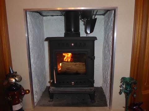 Heat Powered Stove Fan for wood and solid fuel burner stoves.