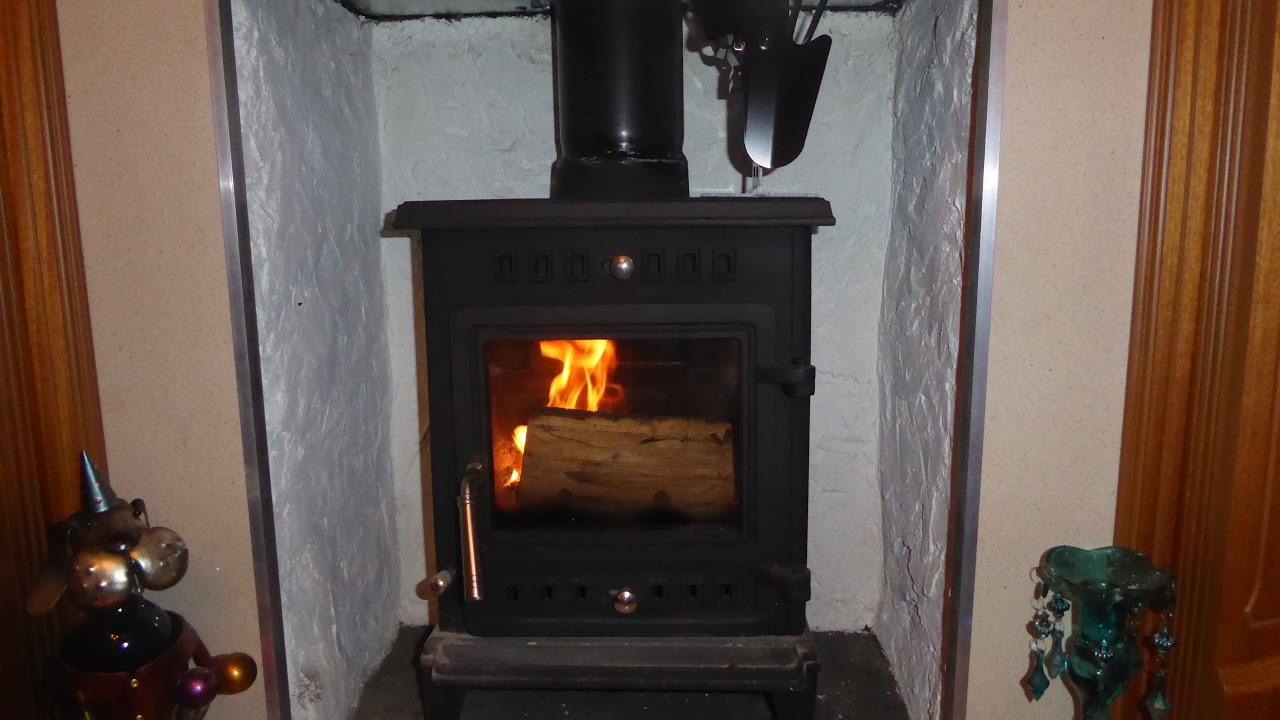 Heat powered fans for wood stoves - Heat Powered Stove Fan For Wood And Solid Fuel Burner Stoves Youtube