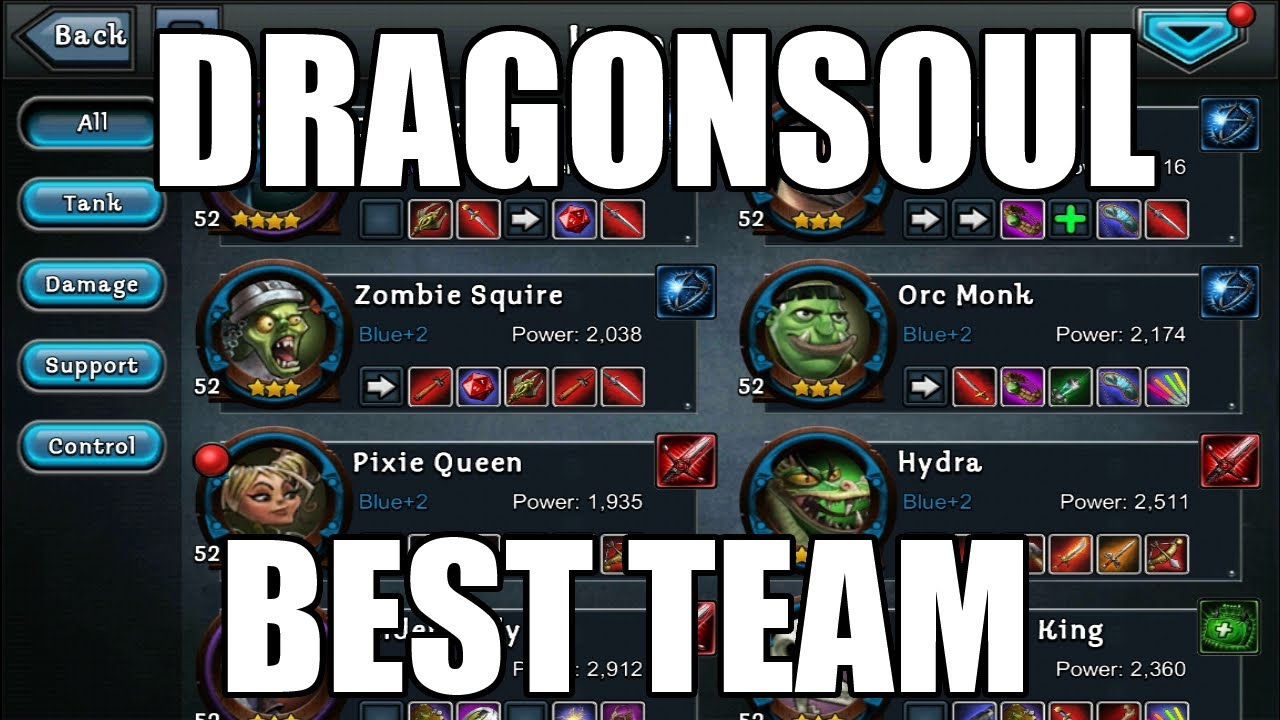 dragonsoul best team ft