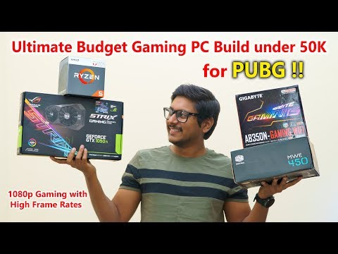 Ultimate Budget Gaming PC Build for PUBG under 50K Rupees...