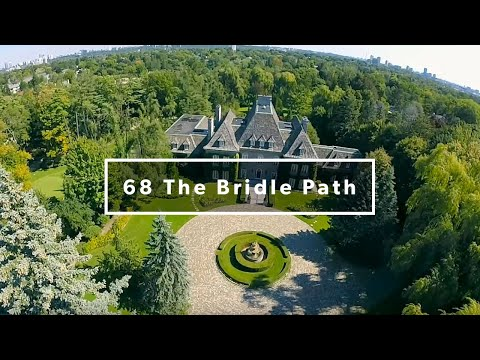 68 The Bridle Path Aerial Film