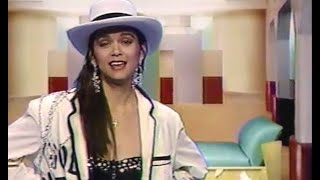 Nia Peeples  MTV VJ Clips (1988)