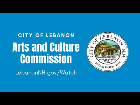 Lebanon Arts and Culture Commission, June 23, 2020