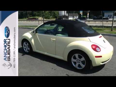 2006 Volkswagen New Beetle Providence RI North Smithfield, RI #PS2738-12