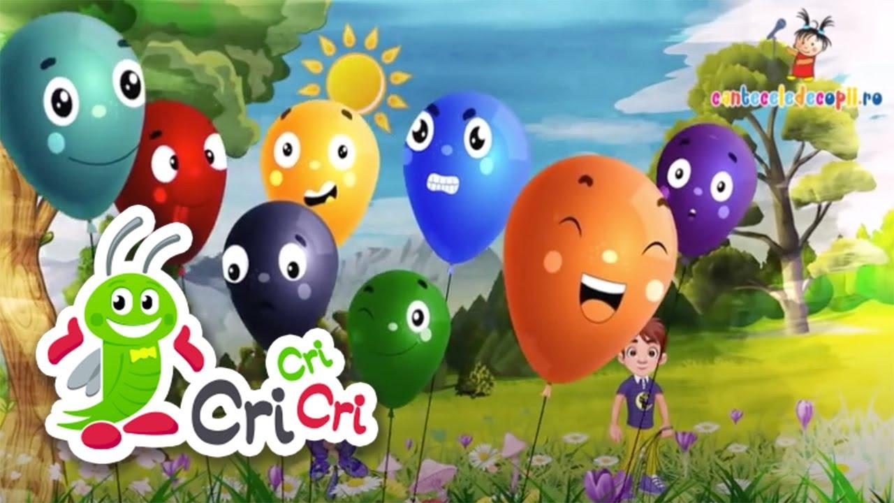 Culorile - Cantece pentru copii | CriCriCri