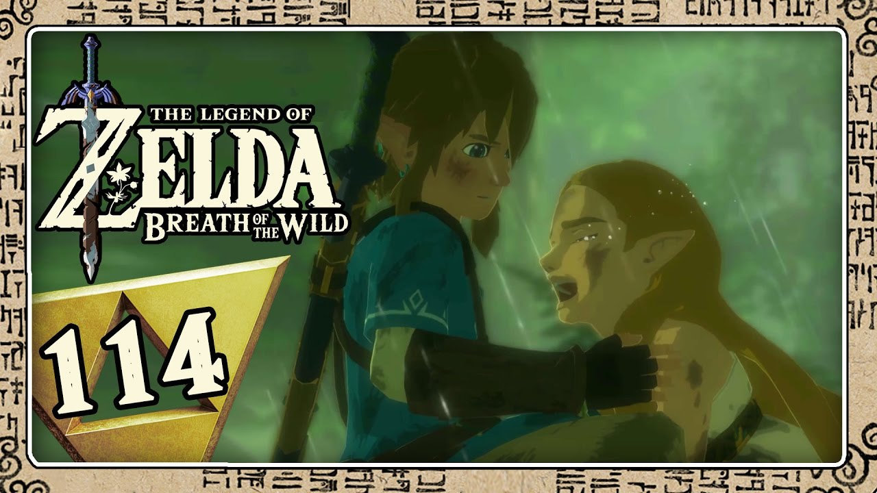 THE LEGEND OF ZELDA BREATH OF THE WILD Part 7: Dramatische Erinnerung im  Wald