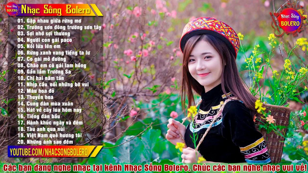 Tải LK Gặp Nhau Giữa Rừng Mơ - Nhạc Sống Thôn Quê Bolero 2021 MP3