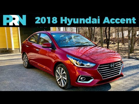 Handsome Affordable 2018 Hyundai Accent GLS TestDrive Spotlight