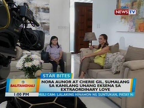 BT: Nora Aunor at Cherie Gil, sumalang sa kanilang unang eksena sa Extraordinary Love
