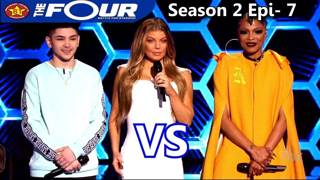 Download Sharaya J vs Dylan Jacob Rappers Battle  The Four Season 2 Ep. 7 S2E7
