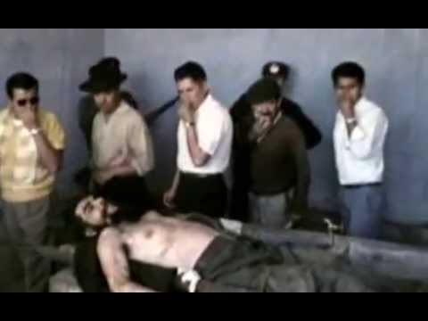 A rare video showing Ernesto Che Guevara after his death