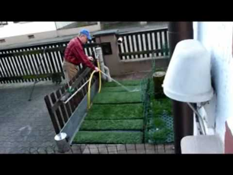 toilette im garten sickergrube abfluss reinigen mit hochdruckreiniger. Black Bedroom Furniture Sets. Home Design Ideas