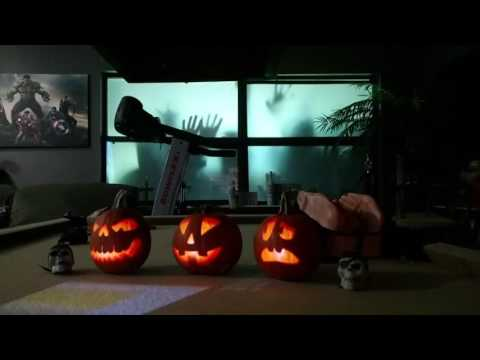 Halloween 2016 using 11 projectors for AtmosFEARfx video projections!